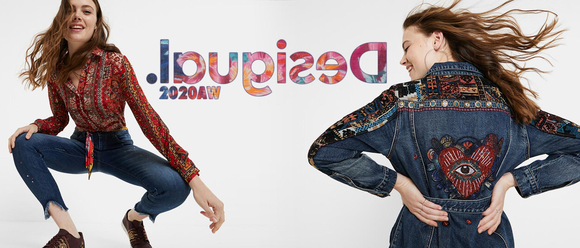 Desigual 2020AW NEW MODEL